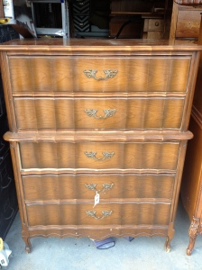Part of a mid-century, french provincial set.