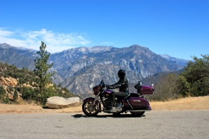 Overlook of King's Canyon