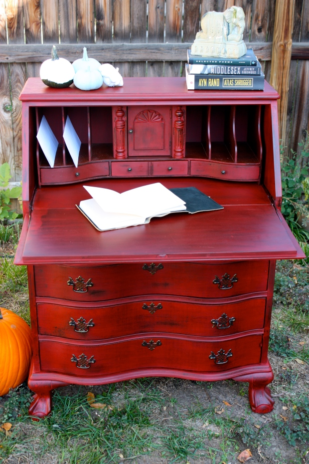 Perfectly shabby and beautifully red!