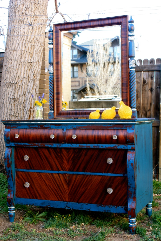 A stunning vanity chest.