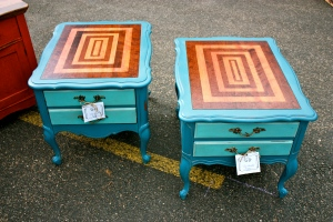 Love these little side tables!